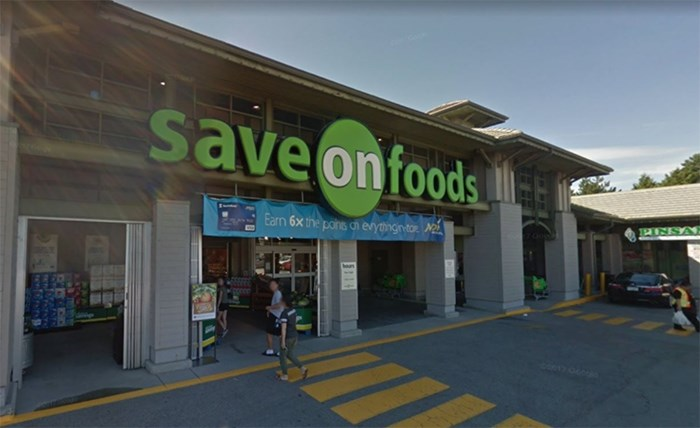 While Richmond's Save On Foods at Terra Nova does not offer delivery, many other local stores are starting to offer online shopping and delivery options. Image: Google Maps Streetview