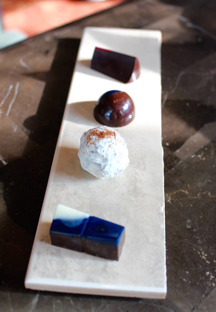 Sampling chocolates (Lindsay William-Ross/Vancouver Is Awesome)