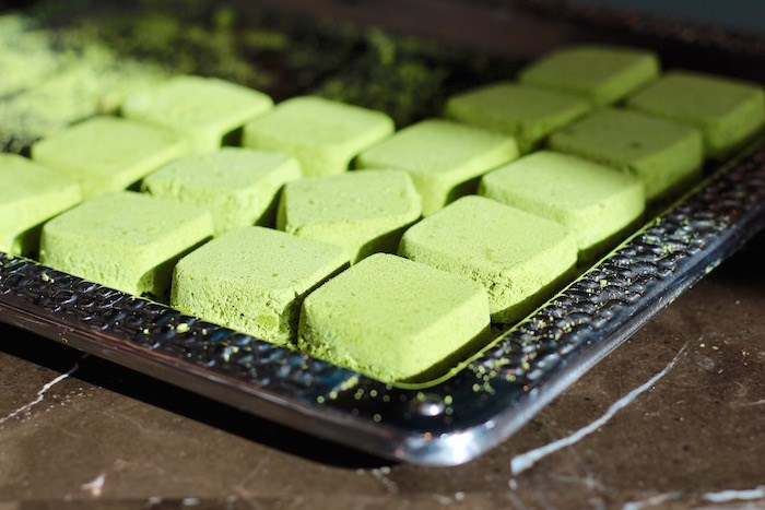 Matcha hot chocolate cubes (Lindsay William-Ross/Vancouver Is Awesome)
