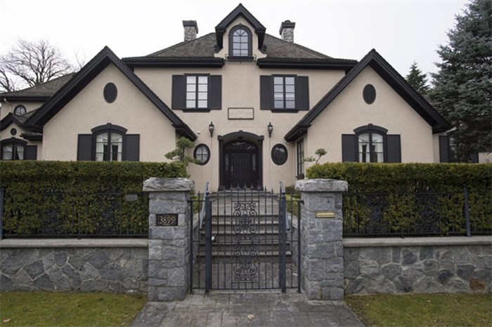 A home in Shaughnessy, an upscale neighbourhood in Vancouver is pictured, Tuesday, March, 13, 2018. THE CANADIAN PRESS/Jonathan Hayward