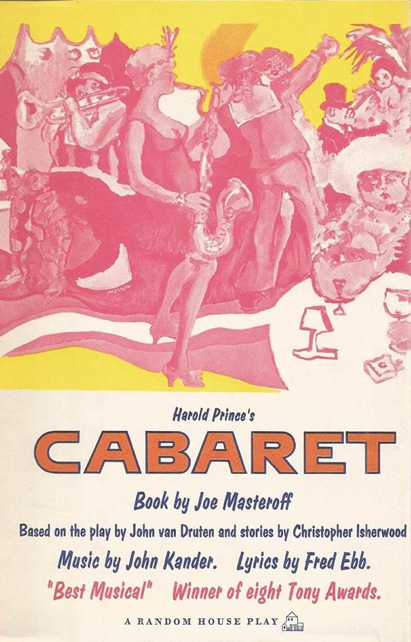 Cabaret by Joe Masteroff, John Kander and Fred Ebb