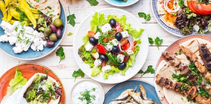 Greek food/Shutterstock