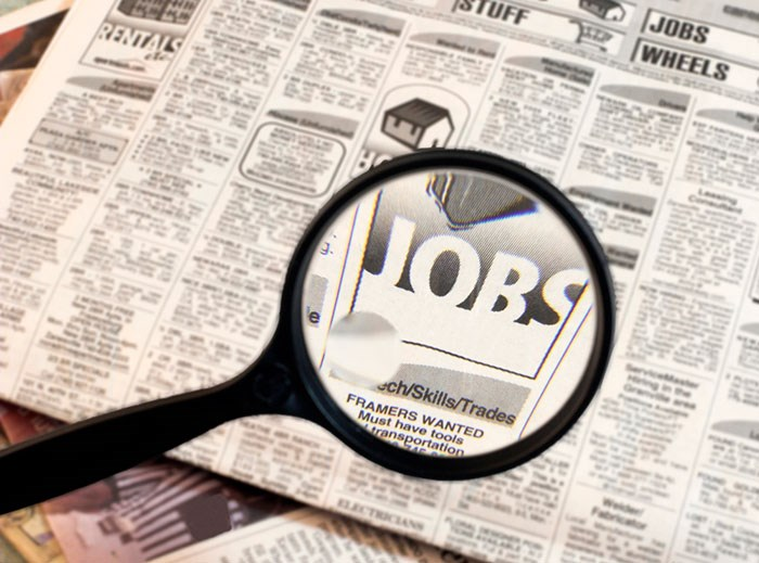 While Canada added 54,000 jobs in September 2019, B.C. shed about 8,400 during that same month. Photo via Shutterstock