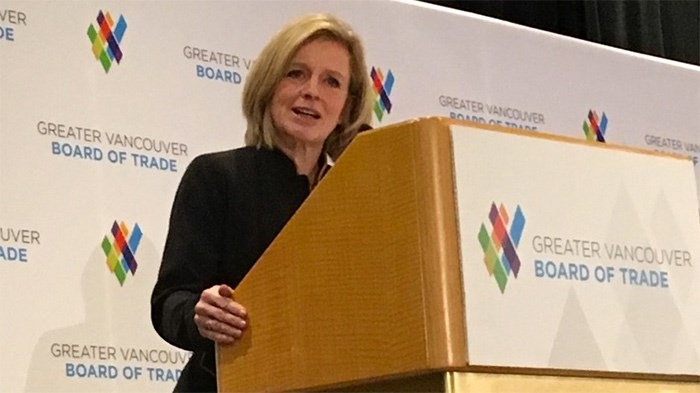 Alberta Premier Rachel Notley contemplates taking stake in pipeline and punishing B.C. with throttled exports