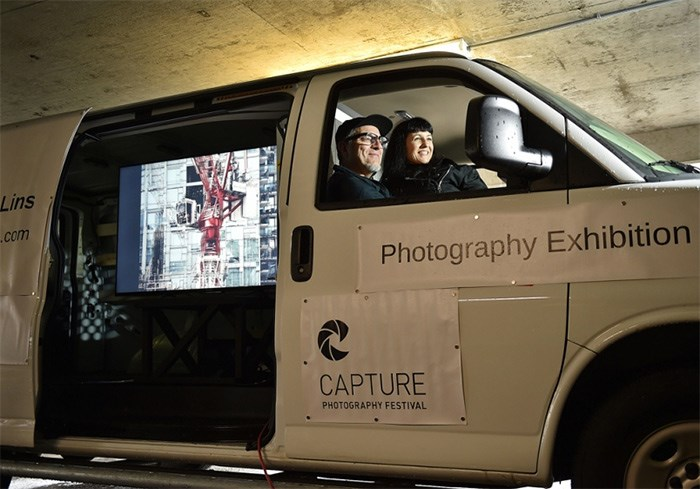 Kent Lins and Sally Buck are taking their art show on the road. Photo Dan Toulgoet