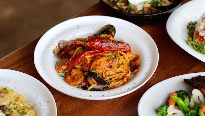 Creamy Cajun Seafood Pasta (Lindsay William-Ross/Vancouver Is Awesome)
