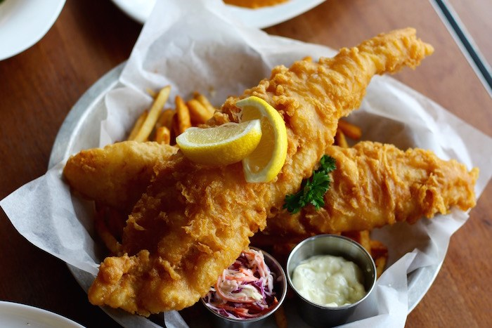 Fish & Chips (Lindsay William-Ross/Vancouver Is Awesome)