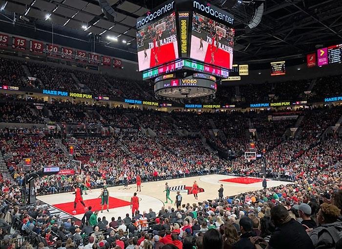 Portland Trail Blazers VS the Boston Celtics