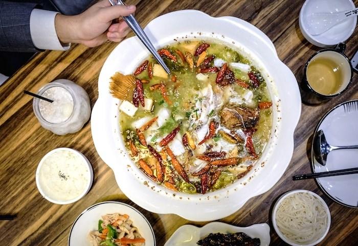 Chinese Sauerkraut Fish at Too Two restaurant (Photo by Rae Kung/Courtesy Chinese Restaurant Awards)