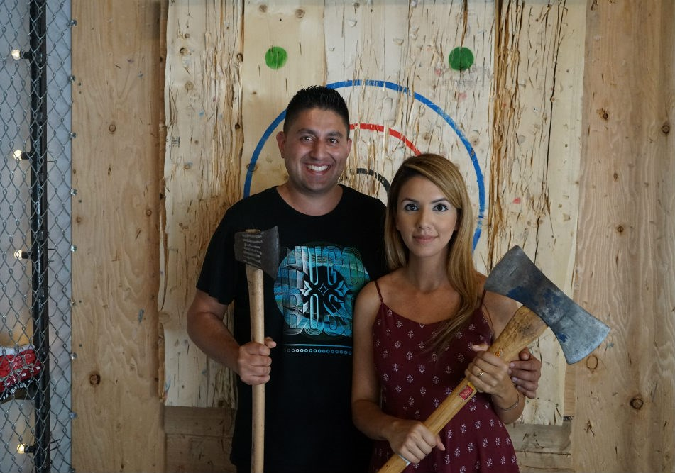 Photo Forged Axe Throwing