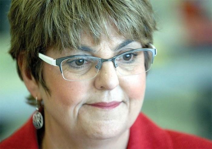 Finance Minister Carole James. File photo Times Colonist