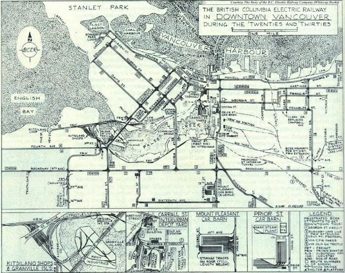 Map via