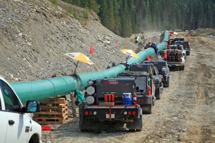 More British Columbians, and people across Canada, are supporting Kinder Morgan's pipeline expansion. (File photo)