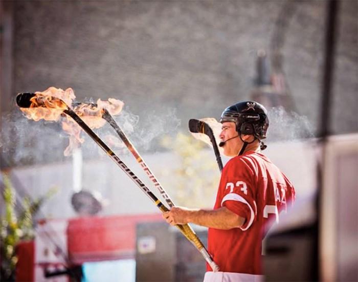 Photo: The Hockey Circus Show Facebook