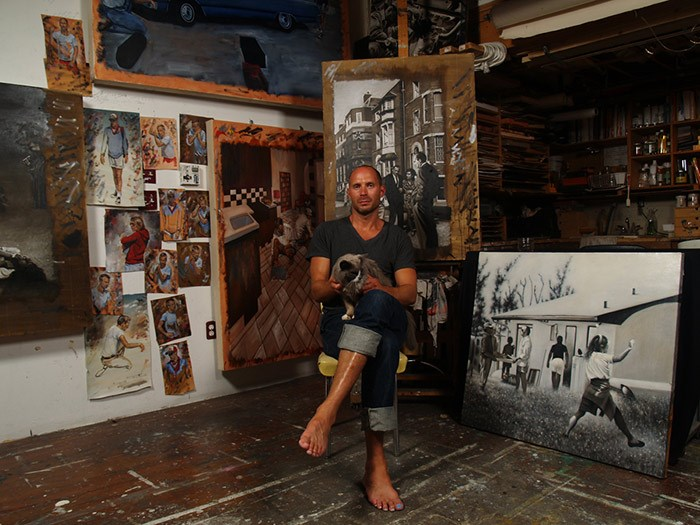 Figurative artist Jay Senetchko.