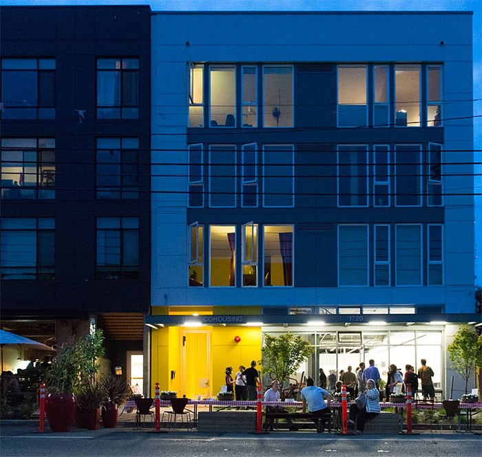 Capitol Hill Urban Cohousing opened in 2016 in Seattle. Photo Danny Ngan Photography