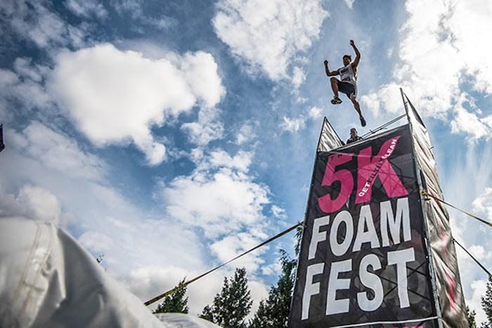 Photo courtesy 5K Foam Fest