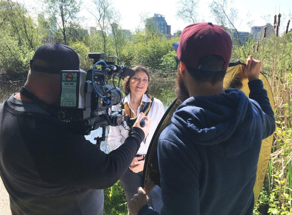 Vancouver Courier editor-in-chief Martha Perkins recounts what it was like to go into Lost Lagoon to find its secretive inhabitant to a Discovery Channel crew. - Celina Starnes