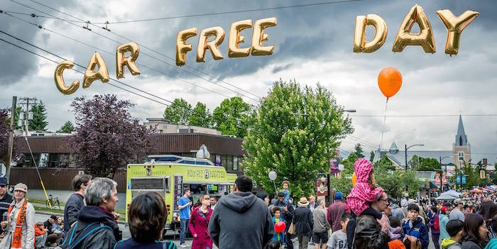Car Free Day Vancouver/