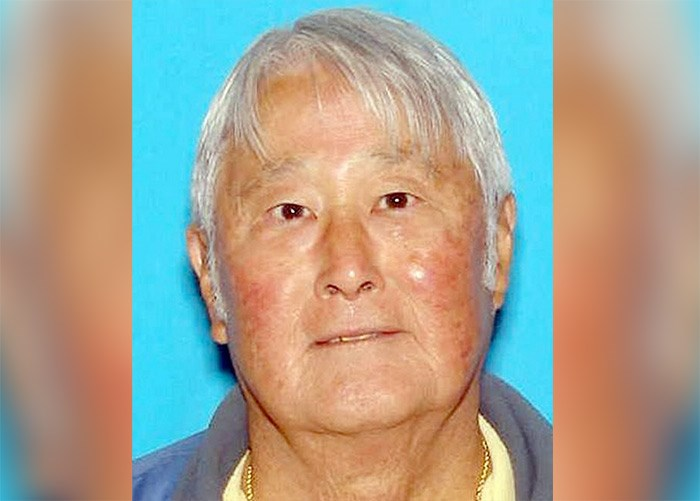 Stanley K. Okumoto of East Bremerton, Washington, went missing on Sept. 19, 2017. His vehicle was found the next day in Clallam County, about 240 kilometres away. Two months later, his body was found by a tourist looking for sea otters near Neah Bay in Juan de Fuca Strait.