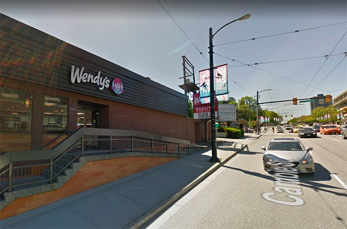 The existing Wendy's site. | Google Maps
