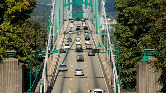The Lions Gate Bridge. File photo/Business In Vancouver