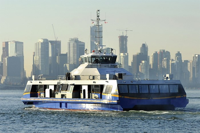 The SeaBus departs North Vancouver. File photo by Cindy Goodman/North Shore News