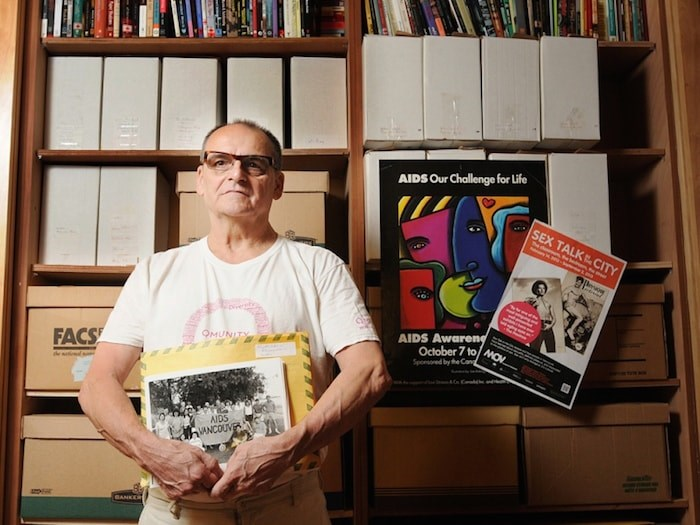 Ron Dutton started the BC Gay and Lesbian Archives in 1976. He recently donated his entire collection to the City of Vancouver Archives. Photo Dan Toulgoet
