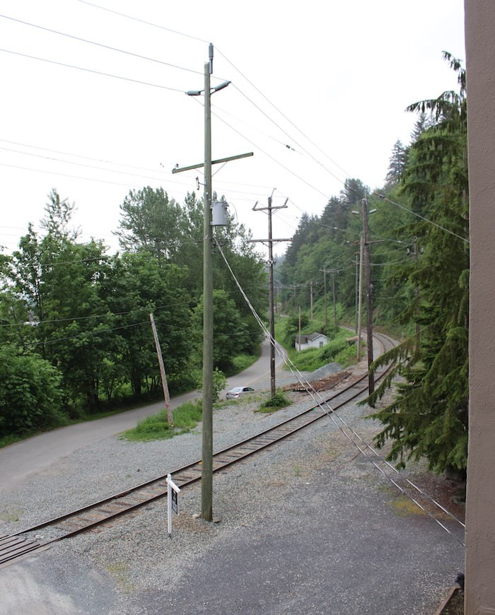 The tracks as seen from the Power House (Lindsay William-Ross/Vancouver Is Awesome)