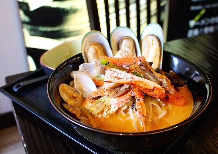The seafood ramen at Koika is a best-seller (Lindsay William-Ross/Vancouver Is Awesome)