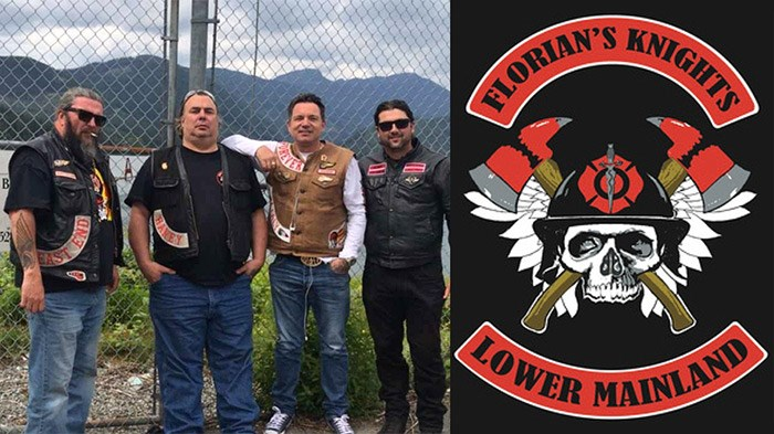 Members of a firefighters biker club made up of active and retired firefighters from Burnaby, New Westminster and Vancouver say they have been unfairly profiled because of the club's three-piece patch.