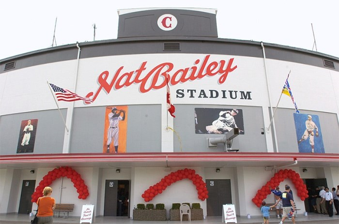 The landmark Nat Bailey Stadium, home to the Vancouver Canadians, is part of the baseball team's allure for fans, says team president Andy Dunn. Photo Dan Toulgoet