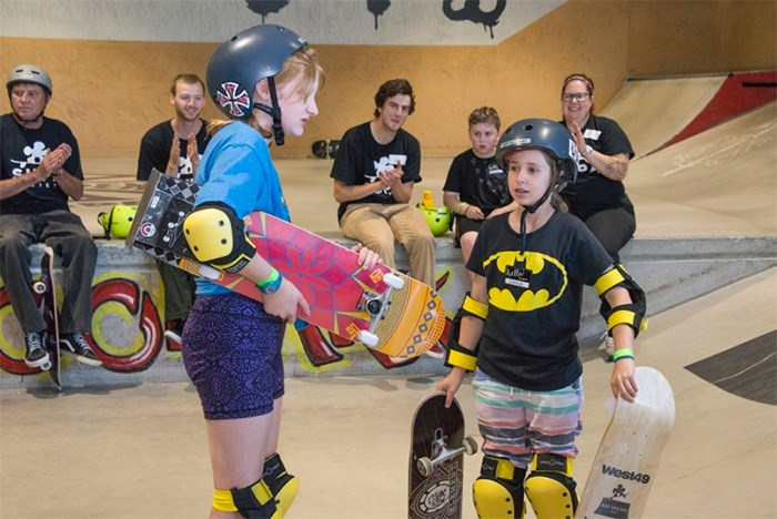 The SUPA Society partnered with West49 and sponsors Ultimate Distribution and Newline Skate Parks to host an event for kids with autism. Photos supplied