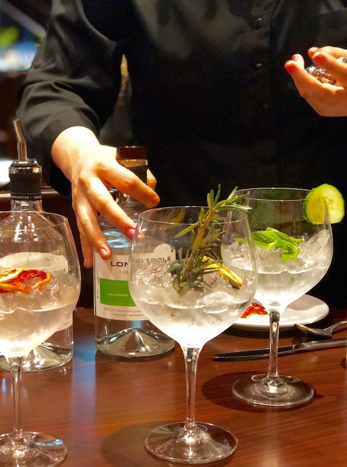 Mixing gin and tonic drinks (Lindsay William-Ross/Vancouver Is Awesome)