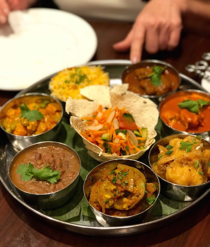 A thali platter (Lindsay William-Ross/Vancouver Is Awesome)