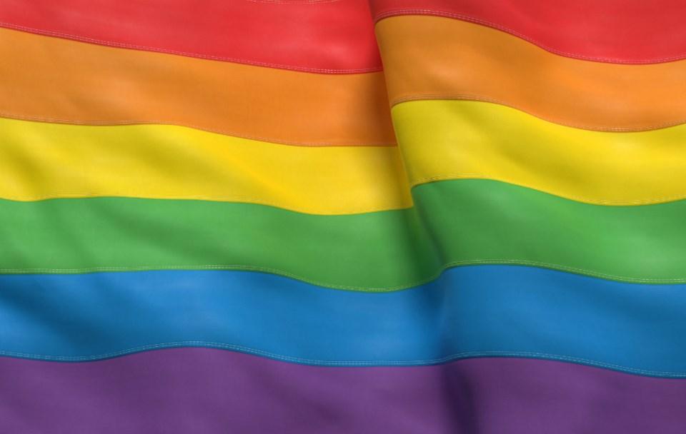 Pride flag/Shutterstock