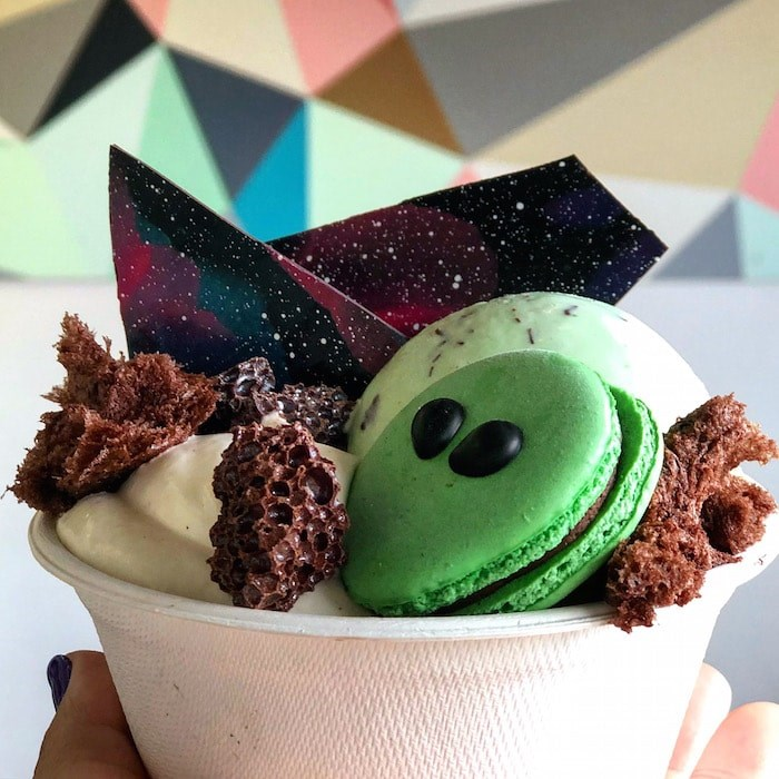 The Ziggy Stardust sundae was inspired by David Bowie (Lindsay William-Ross/Vancouver Is Awesome)