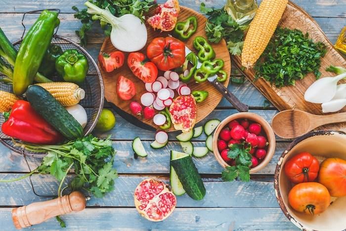 Summer vegetables/Shutterstock