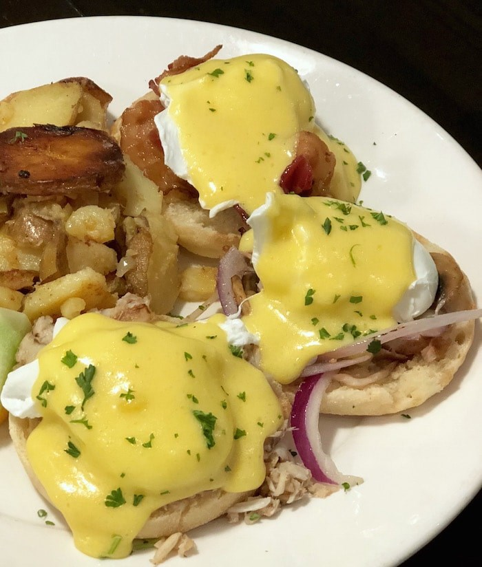 Eggs Benny sampler platter at Wild Wood Pacific Bistro (Lindsay William-Ross/Vancouver Is Awesome)