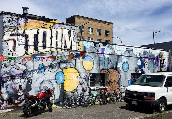 Storm Brewing (Photo: Mira Malatestinic via Eastside Culture Crawl/Facebook)