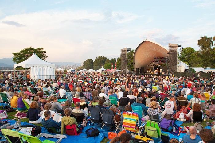 Photo: Vancouver Folk Music Festival