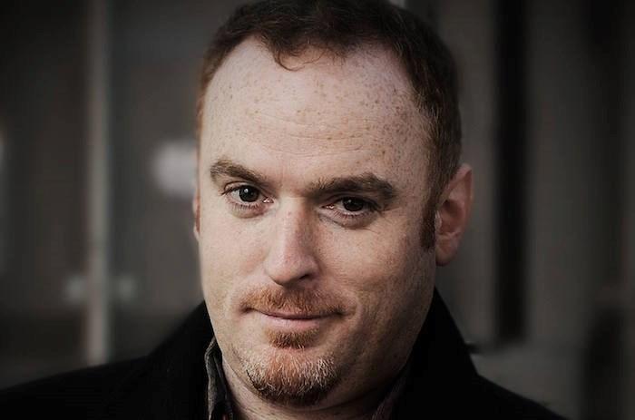Author Aaron Chapman (Photo by Rebecca Blissett)