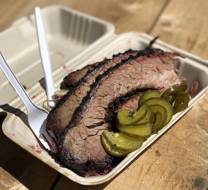 Brisket from Lil' Ronnie's Backyard BBQ (Lindsay William-Ross/Vancouver Is Awesome)