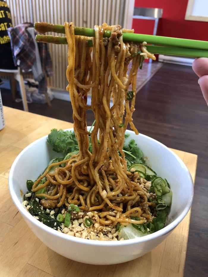 Dan Dan Noodles at Sea Monster (Lindsay William-Ross/Vancouver Is Awesome)