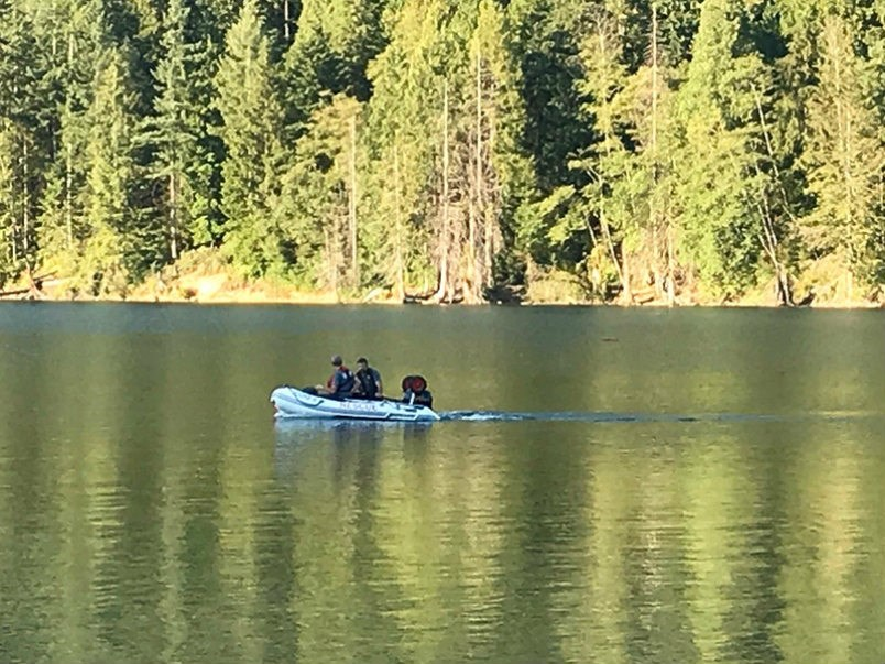 Coquitlam Search and Rescue crews have been scouring Buntzen Lake since Tuesday night for a missing 19-year-old man from Surrey. His body was recovered Wednesday evening
