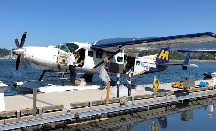 Harbour Air is testing out prototypes of electric-powered seaplanes, but their traditional fleet is still serving their passengers, like the one seen here that connects Tofino and downtown Vancouver. File photo by Lindsay William-Ross/Vancouver Is Awesome