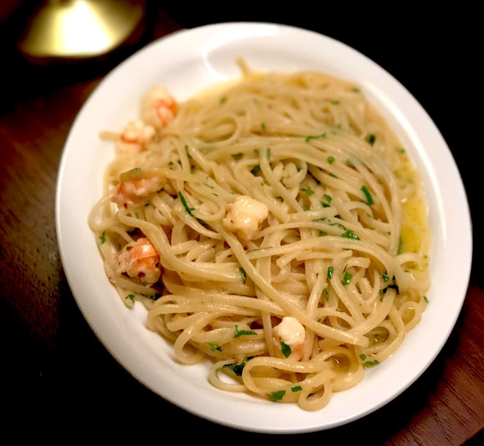 Linguine & Spot Prawn Scampi (Lindsay William-Ross/Vancouver Is Awesome)