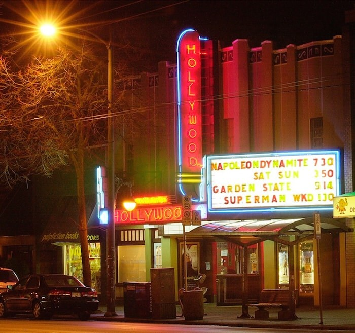The Hollywood Theatre, shown here in 2004, will remain as a hub for music and culture after council voted to protect the building on Tuesday, July 24. (Photograph By DAN TOULGOET)