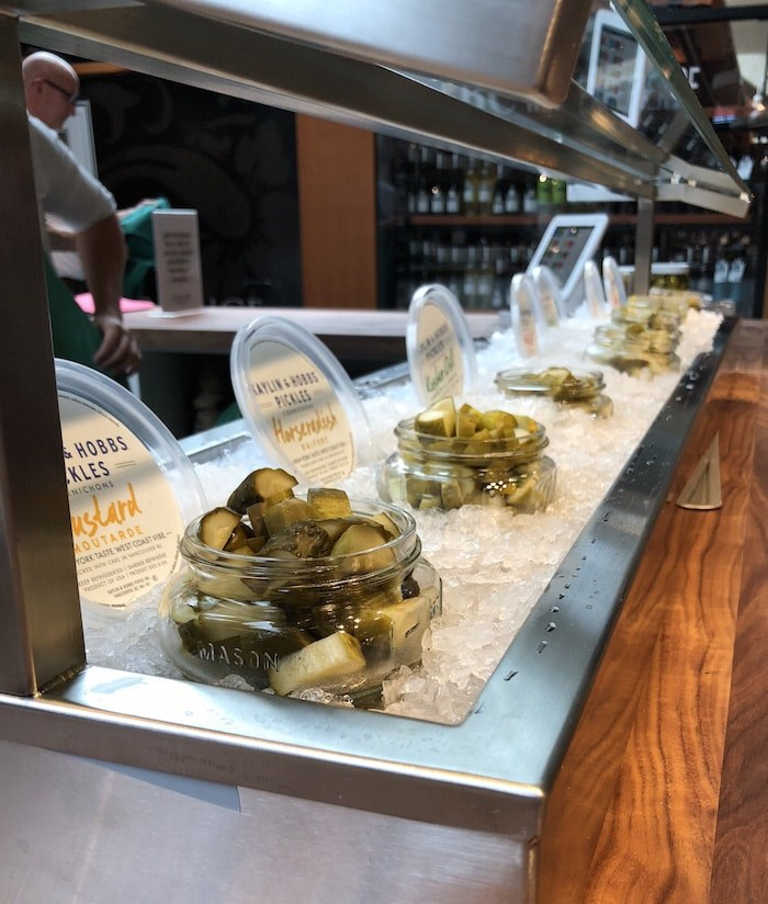 Pickle tasting bar (Lindsay William-Ross/Vancouver Is Awesome)