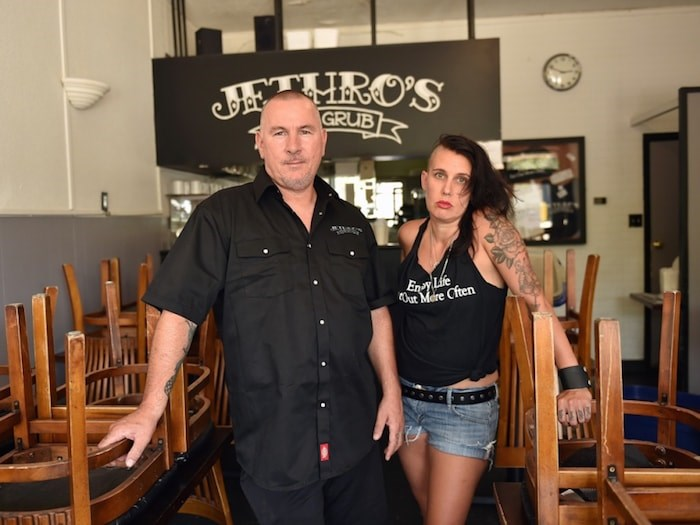 D'Arcy Allen and Emily Jane Stuart closed the Dunbar location of Jethro's Fine Grub on July 25, 2018. Photo by Dan Toulgoet/Vancouver Courier